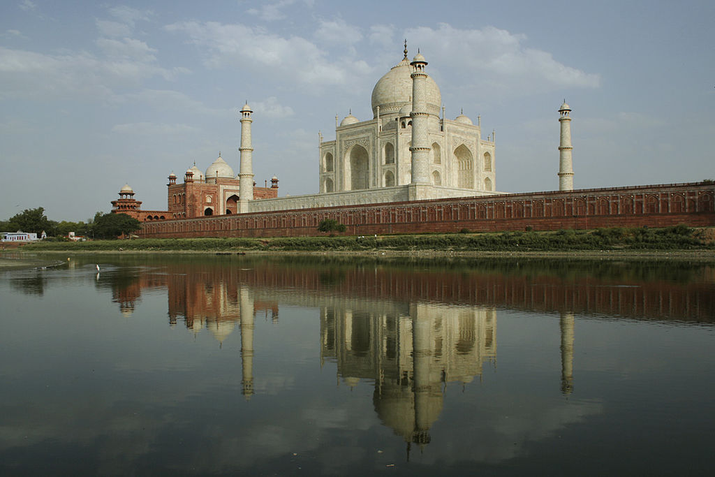 The other side of the Taj