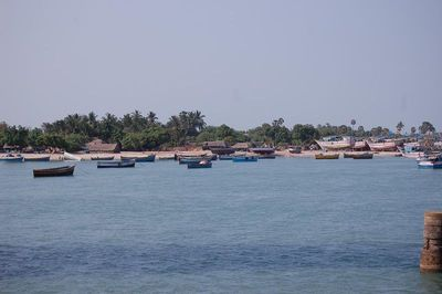 Typical Fishing Village by the sea