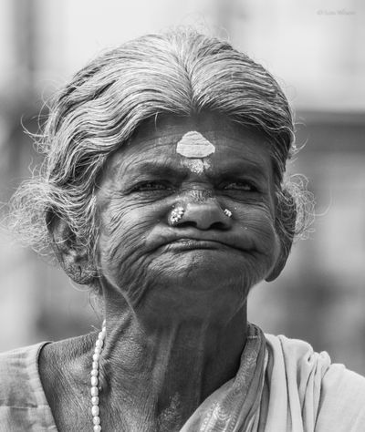 Lady In Tamil Nadu