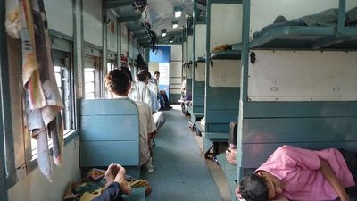 2nd Class Unreserved Train Car Udupi to Goa
