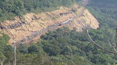 Matheran Toy train 1