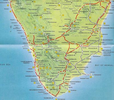 southern railway route map India Travel Forum Indian Railways A Southern Railway Forum southern railway route map