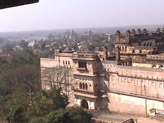 View of Orchha