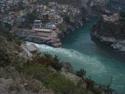 Dev Prayag .. beyond Rishikesh