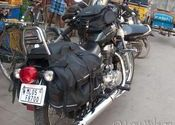 MC by Lou Wilson.  Tags: Puducherry, Puducherry, motorcycles, scooter, Transportation.
