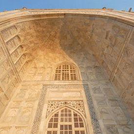 Taj Mahal Detail