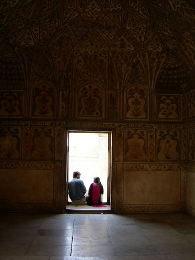 good company at the Agra Fort