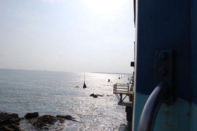 Pamban Sea view