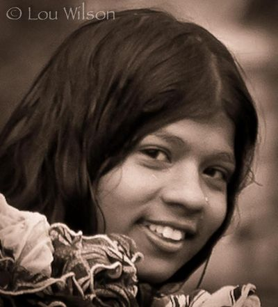 Girl at the Ghat