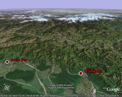 Himalaya with Google Earth