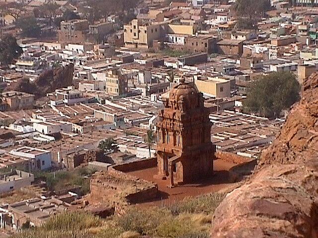 View of Badami