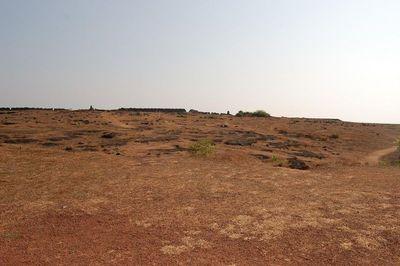 Inside Chapora Fort