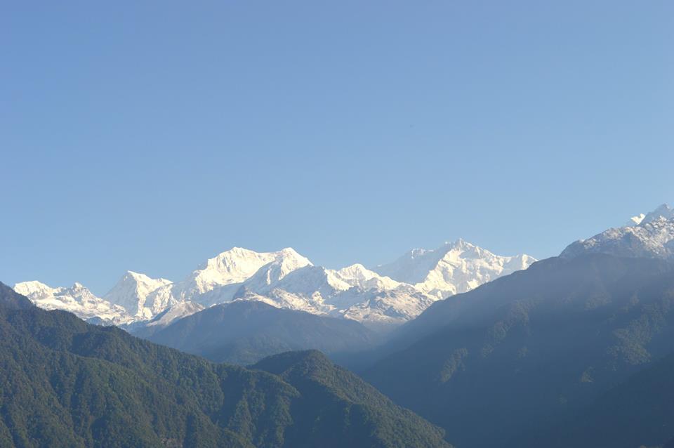 Majestic Kanchenjunga from Pelling
