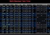 Delhi to Roorkee Train Time Table by PKanti.  Tags: New Delhi, Delhi, Trains, Trains, Trains, roorkee.