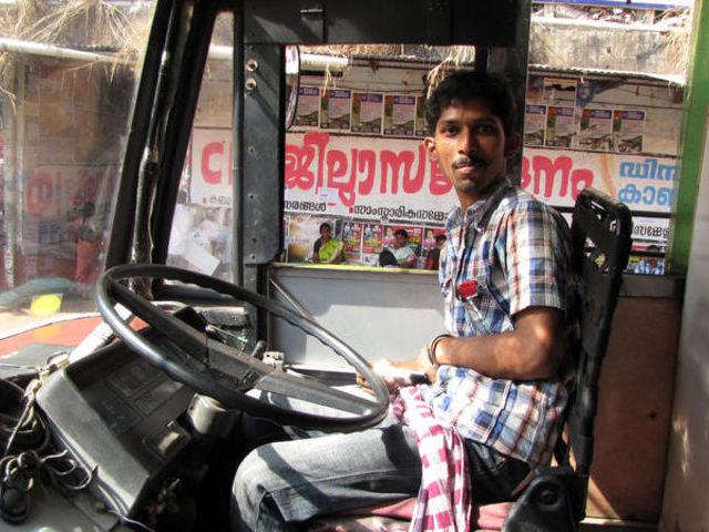 A brave busdriver