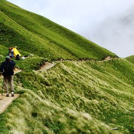 Roopkund Trek -  On to the tent at Pathal Nachauni