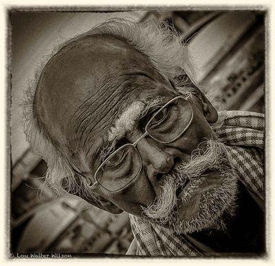 Man On the Road - madurai South India