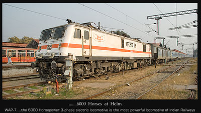 .......the most powerful passenger locomotive of Indian Railways