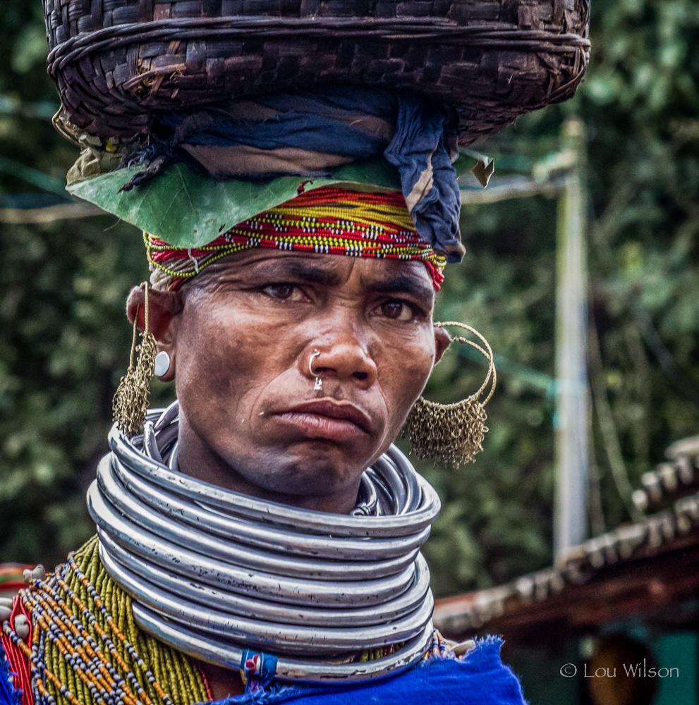Bonda Tribal Lady Near Koraput India Travel Forum