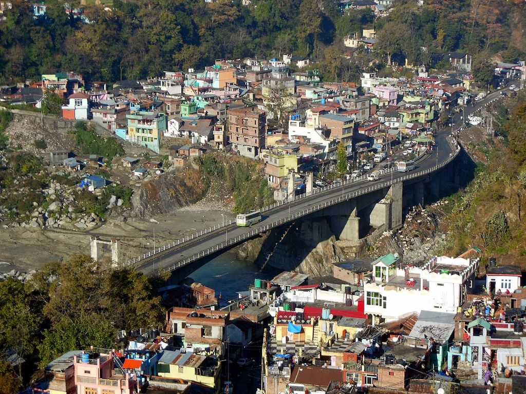 Bridge Over Ravi River In Chamba Town India Travel Forum