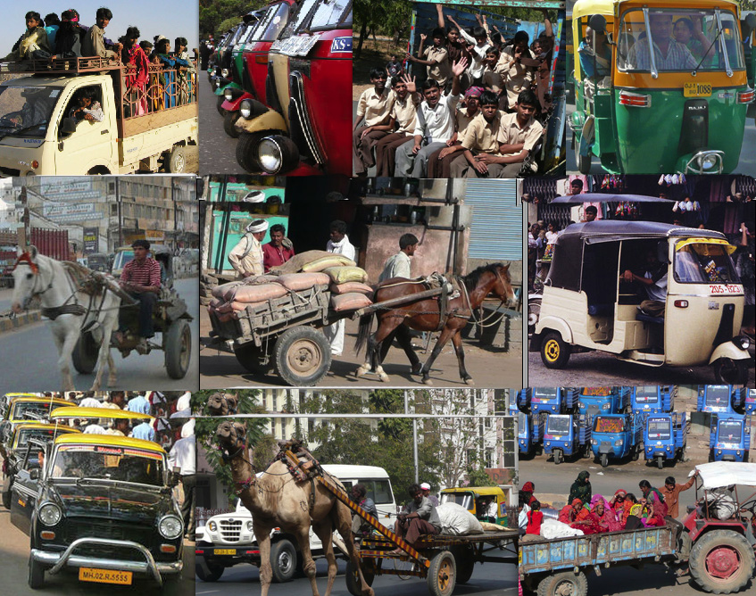 Taxi Collage - India Travel Forum   IndiaMike.com