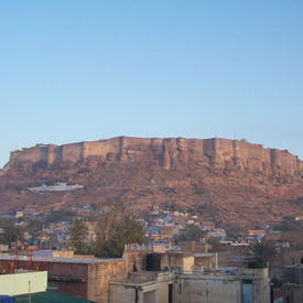 mehrangarh fort - early morning