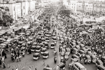 View From The Charminar