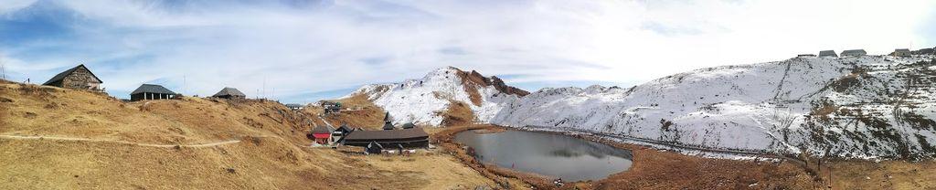 Panorama captured at Parashar Lake