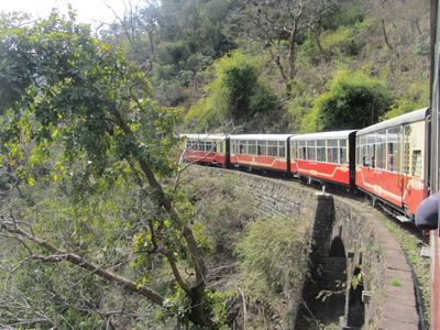 Joyride on Toy train, Kalka-Shimla Railways