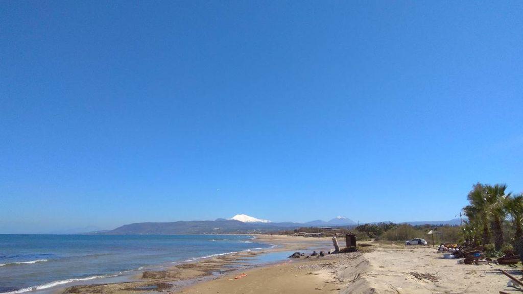 Mount Ida,  as seen from Georgioupoli beach