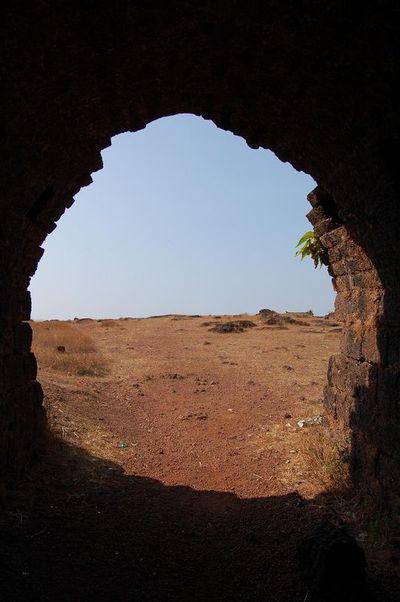 Chapora Fort Entrance