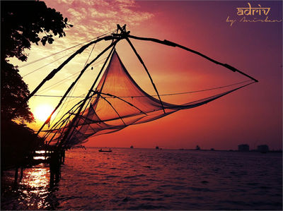 Chinese Fishing Net_Fort Kochi