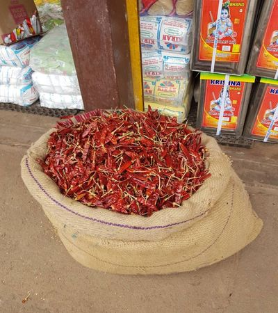 Dried Red Chillies.