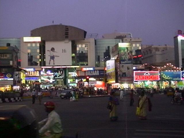 Abids Square, Hyderabad