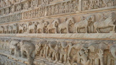 Jagdish Temple Stone Work