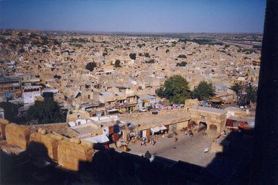 Jaisalmer from the fort
