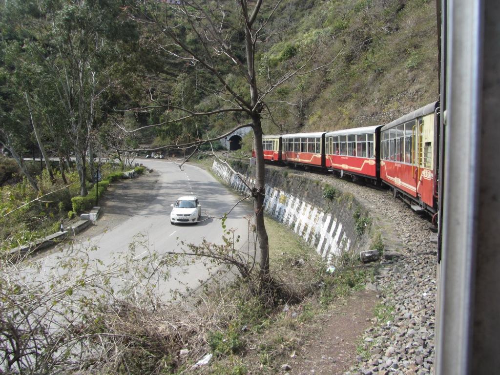 Joyride on Toy train, Kalka-Shimla Railways