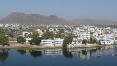 Udaipur Lake Monsoon Palace