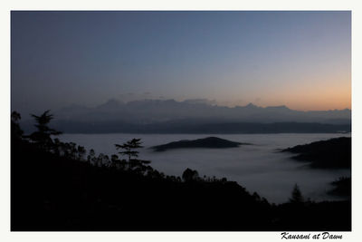 Dawn at Kausani