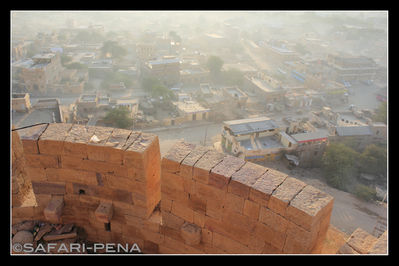 Sunrise from Jaisalmer Fort