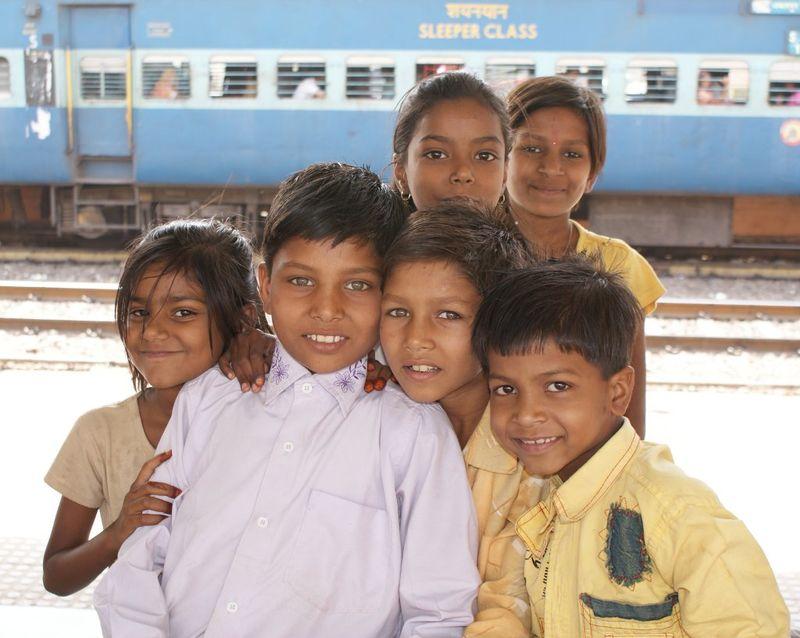 Indian Children at Sawai Madhopur