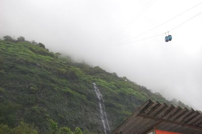 Ropeway to the clouds