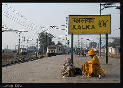 .......Indian Railways.............linking India