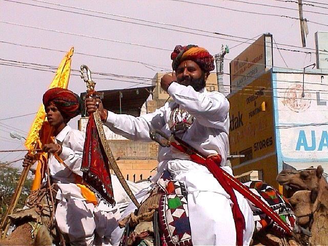 Desert Festival '03, Jaisalmer. Opening Procession (3)