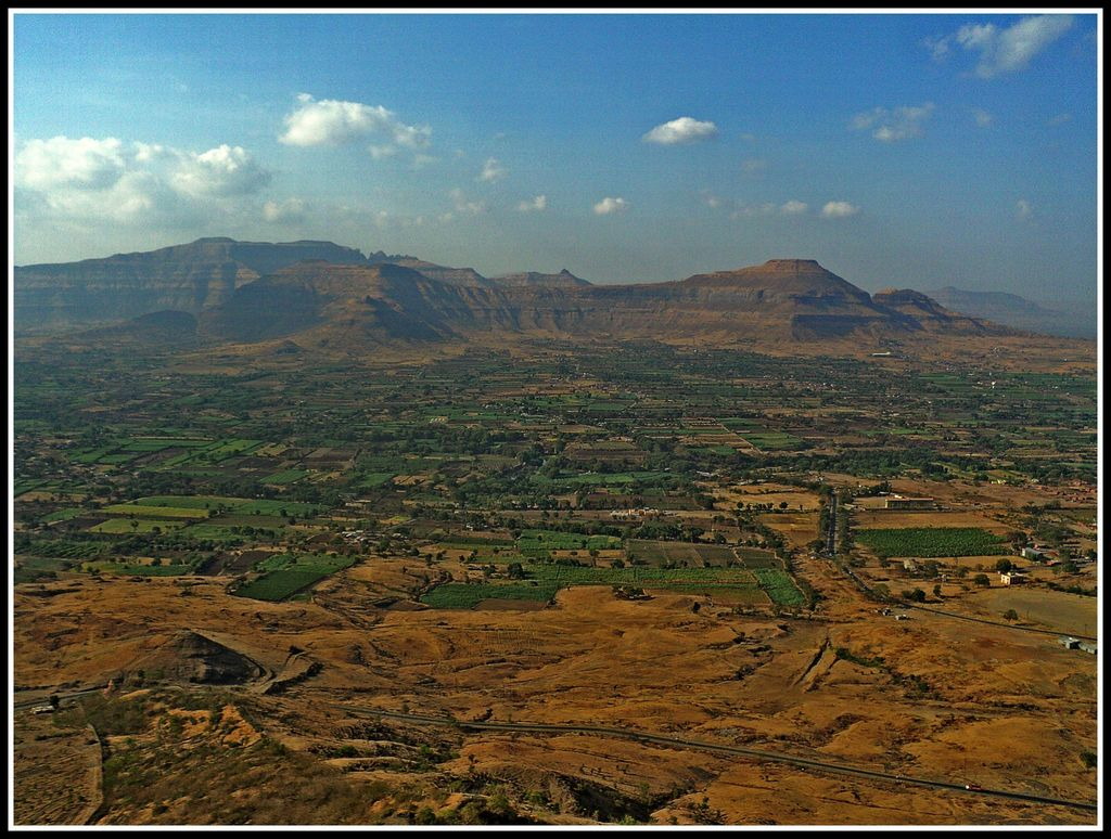 View From Shivneri Fort