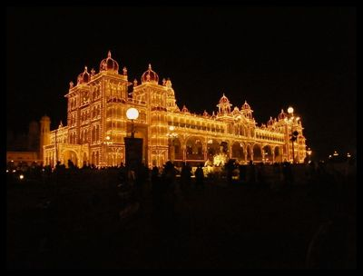 Dasara Mysore Palace Lit Up