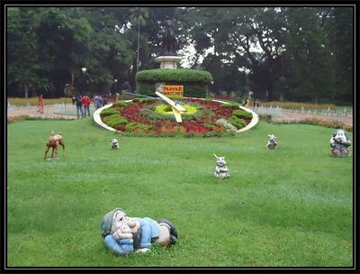HMT Watch at Lalbagh Garden, Bangalore.