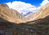 Entering Spiti Valley from Hampta pass. by souravsit.  Tags: Spiti, Himachal Pradesh, Spiti Valley, hampta pass.