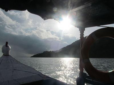 Motor boat @ Chilka