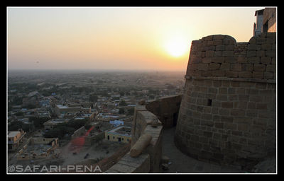 Sunset from Jaisalmer Fort